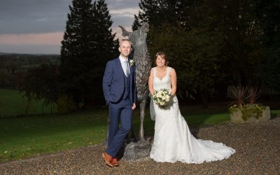 Chrissy and Kenny's Corick House Hotel Wedding