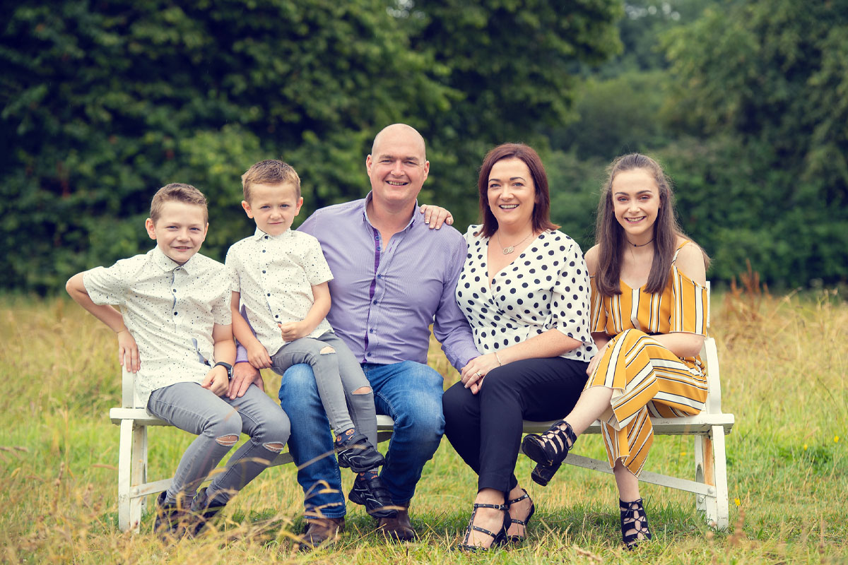 Family Photography Crom Estate National Trust