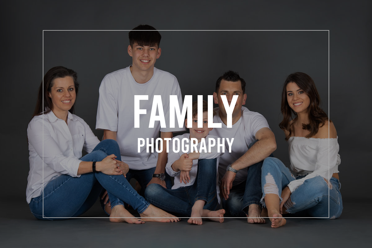 Family portrait by Trevor Lucy Photography