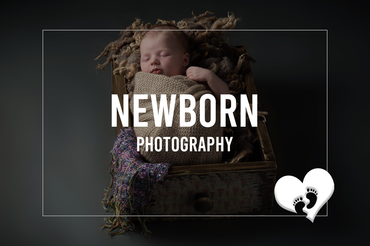Newborn Baby portrait by Trevor Lucy Photographer
