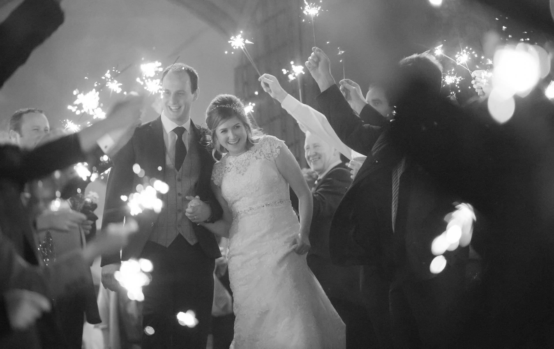 Picture of Alison and James at Cabra Castle on their wedding day captured by Fermanagh, Tyrone and Northern Ireland wedding photographer, Trevor Lucy Photography