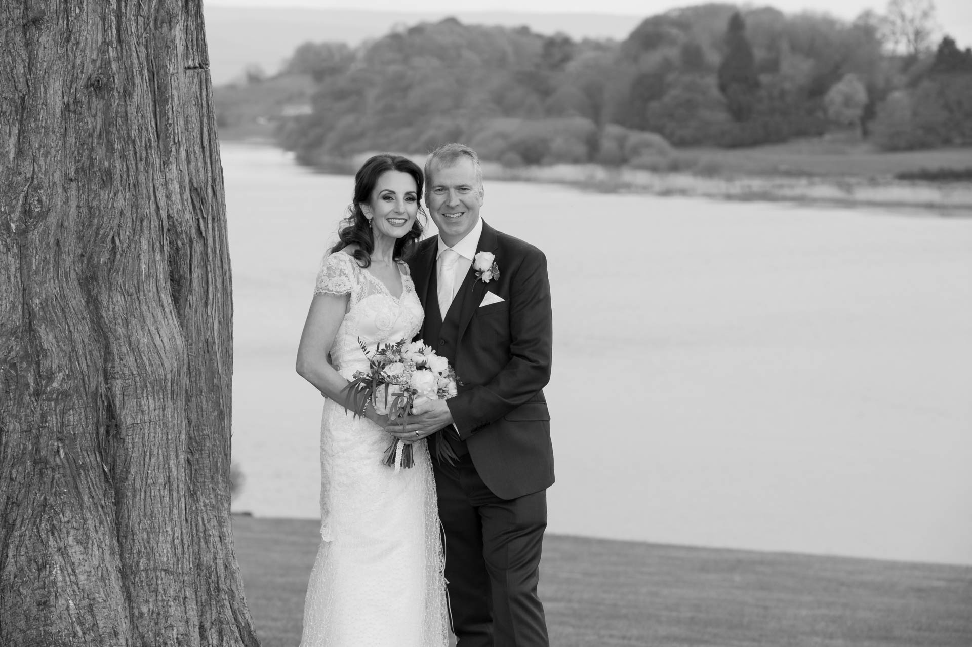 Picture of Vania and Robert at Killyhevlin Hotel on their wedding day, captured by Fermanagh, Tyrone and Northern Ireland Wedding Photographer, Trevor Lucy Photography